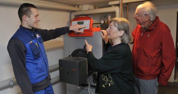 KUNDENDIENST wird bei der Firma Kessler Heiztechnik GROSSGESCHRIEBEN