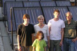 Fam. Rudolf – Solaranlage – Gasbrennwert – Pufferspeicher