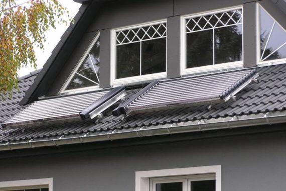 Heizsystem: Solar - Gasbrennwert - gesundheitzCenter®
