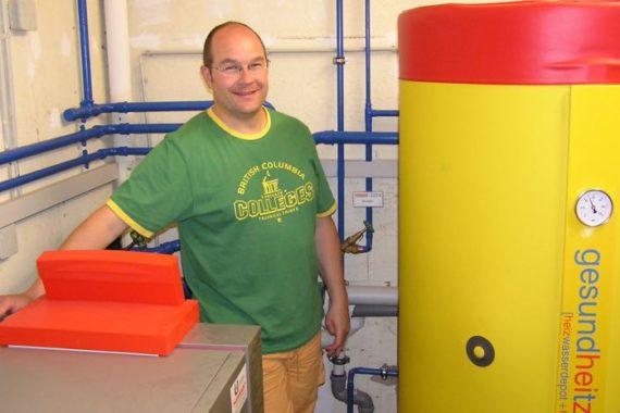Heizsystem: Ölbrennwert- gesundheitzCenter - Solar