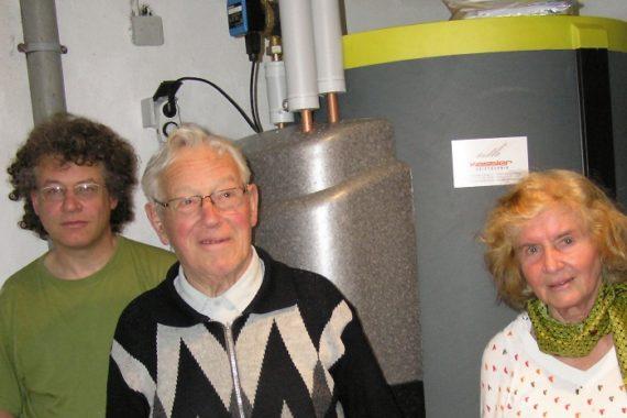 Familie Göhringer aus Marbach Heizsystem: Ölbrennwert und Solaranalge
