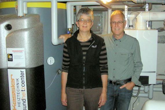 Fam. Breinlinger, Tannheim Heizsystem: Gasbrennwert - gesundheitzCenter - Solar