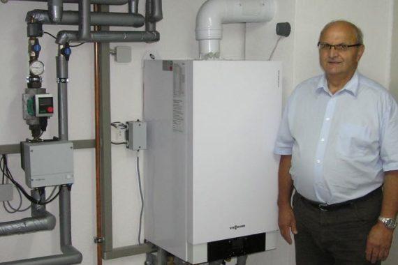 H. Ringwald, Donaueschingen-Wolterdingen Heizsystem: Mikro-Blockheizkraftwerk (BHKW)
