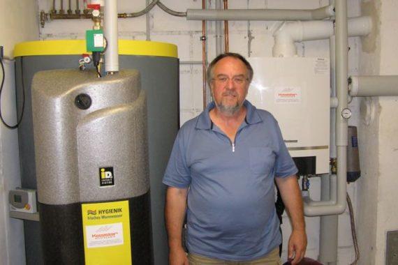 W. Sauer Heizsystem: Gasbrennwertkessel - gesundheitzCenter