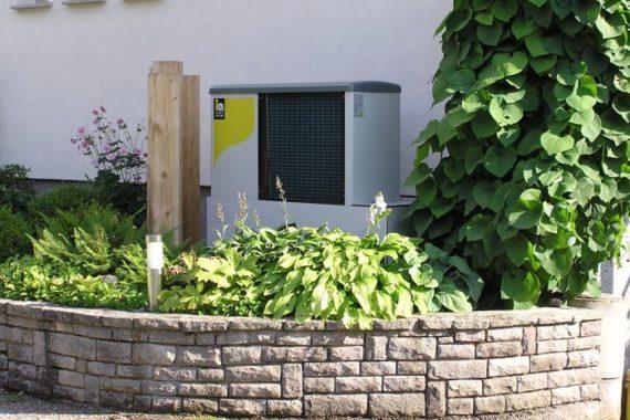 Heizsystem: Luftwärme-Pumpe