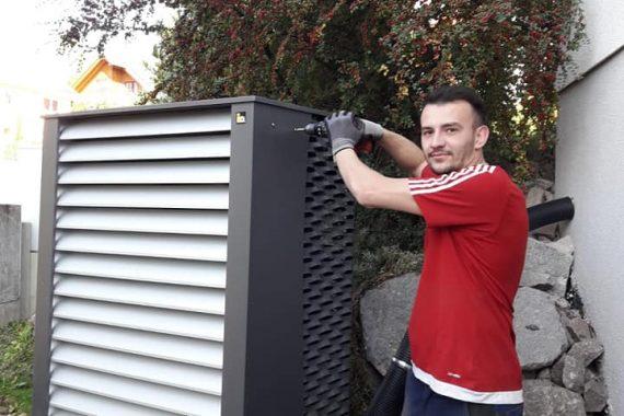 Luftwärmepumpe Aasen