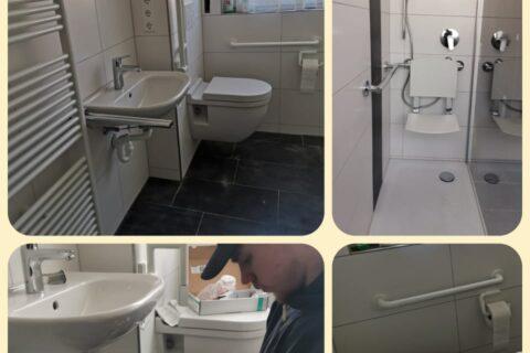 Altersgerechtes Badezimmer in Donaueschingen